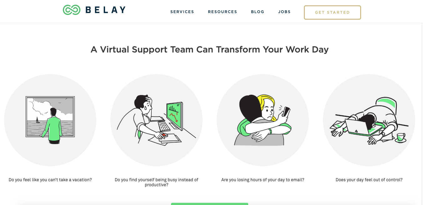 Best Virtual assistant companies Belay