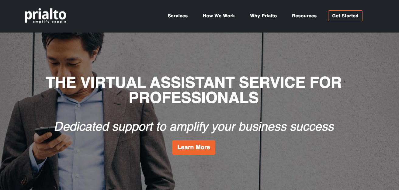 Best Virtual assistant companies Prialto