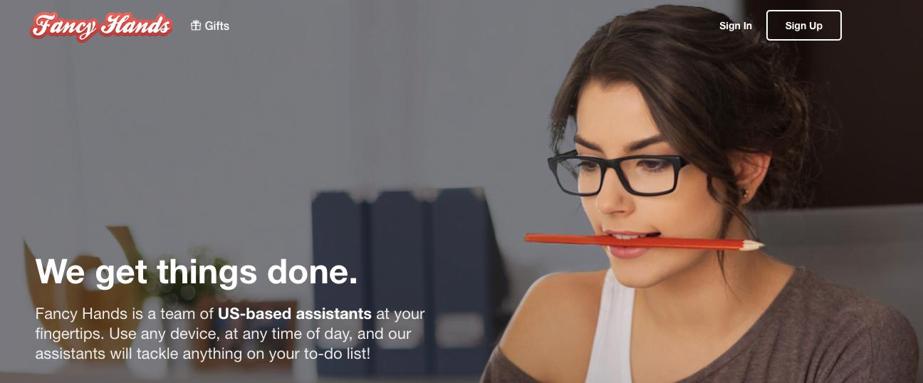 Best Virtual assistant companies Fancy Hands