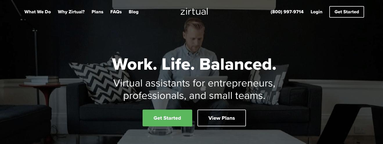 Best Virtual assistant companies Zirtual